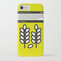 catcher in the rye iPhone & iPod Cases featuring No016 MY The Catcher in the Rye Book Icon poster by Chungkong