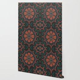 Folk flower Wallpaper