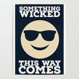 Something Wicked This Way Comes - Badass Shakespeare (Alternative) Poster