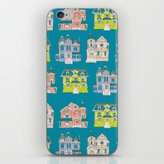 Victorian Homes Pattern iPhone & iPod Skin