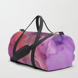 Alcohol Ink 'The Last Unicorn' Duffle Bag