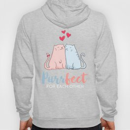 Evergreen   Love   Purr fect for each other Hoody