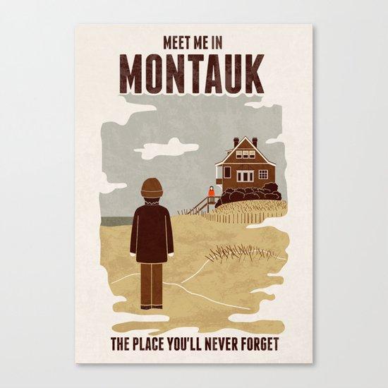 Montauk Canvas Print