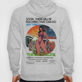 Vintage FIlm Poster - Things to Come (1976) Hoody
