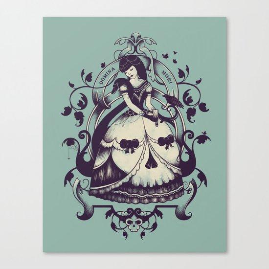 Mrs. Death Canvas Print