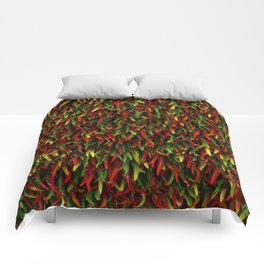 Hot chili peppers Comforters