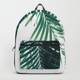 Palm Leaves Green Vibes #4 #tropical #decor #art #society6 Backpack