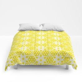 Stars and Hexagons Pattern - Sunburst Comforters