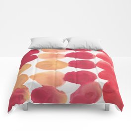7  | 190408 Red Abstract Watercolour Comforters