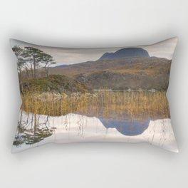 Suilven at Sunrise Rectangular Pillow