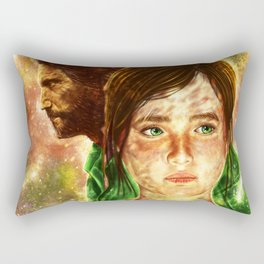 The Last of Us - Joel and Ellie  Rectangular Pillow