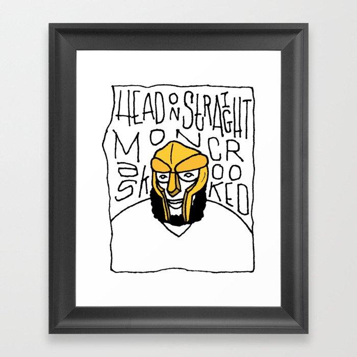 MF Doom Gerahmter Kunstdruck