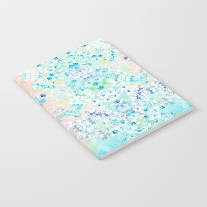 Pastel Flowers  Notebook