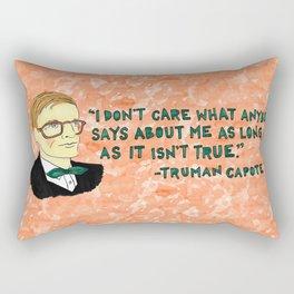 Truman Capote Rectangular Pillow