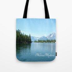 Grand Teton National Park landscape photography  Tote Bag