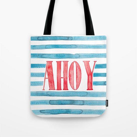 Ahoy Tote Bag