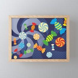 Rainbow Sugar Crush Framed Mini Art Print