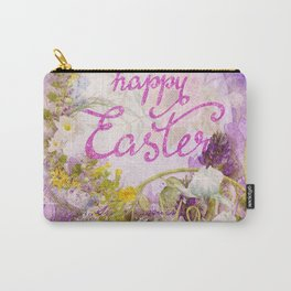 Purple Easter Carry-All Pouch