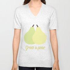Grow a Pear Unisex V-Neck