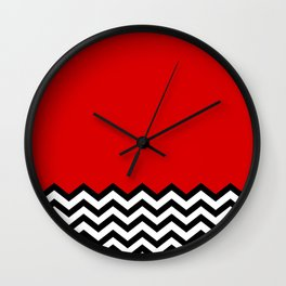 Black Lodge Dreams (Twin Peaks) Wall Clock