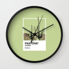 Pantone Series – Cactus Wall Clock