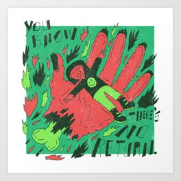 Idle Hands X Sabbath Art Print