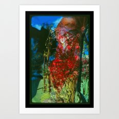 Bloody Jungle Art Print