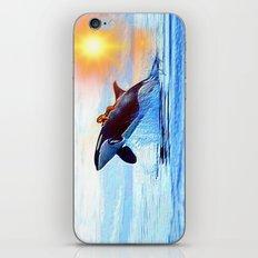 Orca Queen iPhone & iPod Skin