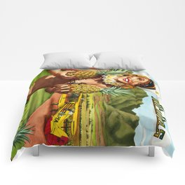 Pineapple Express Airlines Comforters