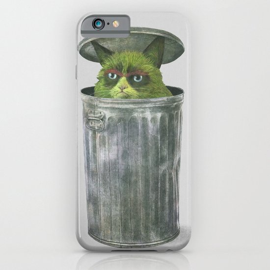 Grouchy Cat  iPhone & iPod Case