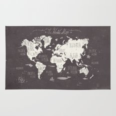 The World Map Rug