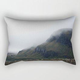 misty start on the tongariro alpine crossing Rectangular Pillow