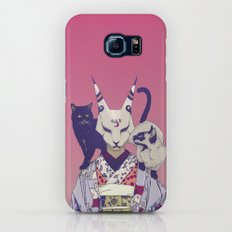 Neko Lady Slim Case Galaxy S8