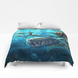Atlantean Fizz League of Legends Comforters