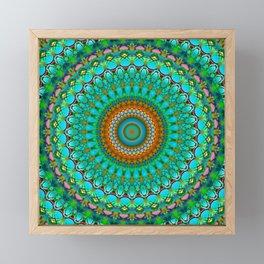 Geometric Mandala G388 Framed Mini Art Print