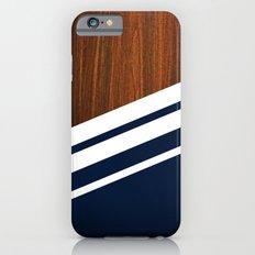Wooden Navy Slim Case iPhone 6