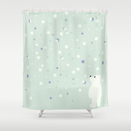 Snowfall 2 Shower Curtain
