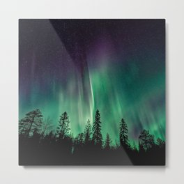 Aurora Borealis (Heavenly Northern Lights) Metal Print