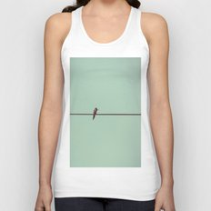 On the Wire Unisex Tank Top