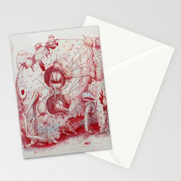 The Pica Gloom Stationery Cards