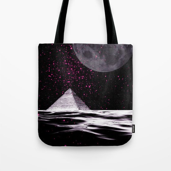PINK UFO Tote Bag