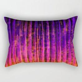 Syntax (Purple + Orange) Rectangular Pillow