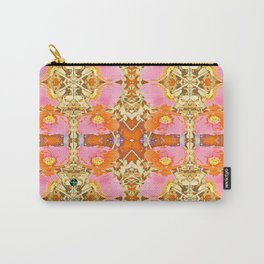Pink & Orange Poppy 4 Carry-All Pouch