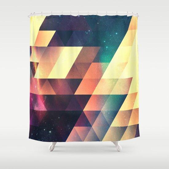 thyss lyyts Shower Curtain