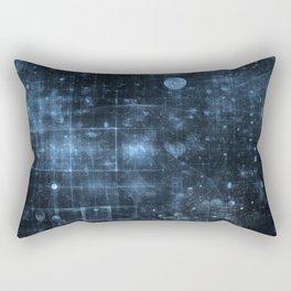 Space and Time Rectangular Pillow