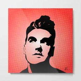 The Smiths - This Charming Man - Pop Art Metal Print