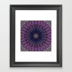Space structure Framed Art Print