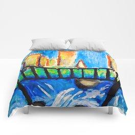Bright Bridge Comforters