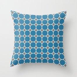 ponovan (blue) Throw Pillow