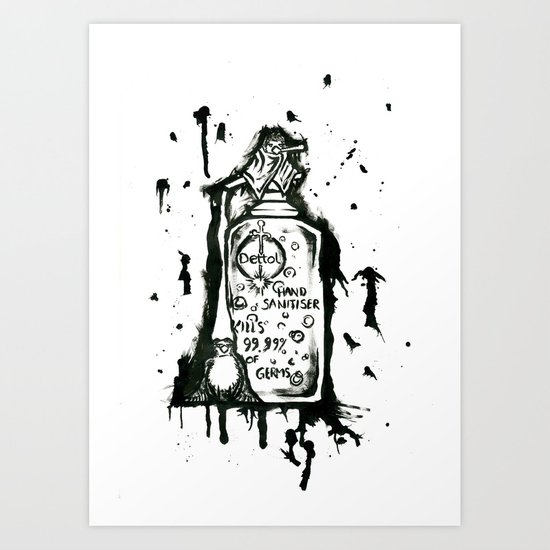 Dettol Art Print
